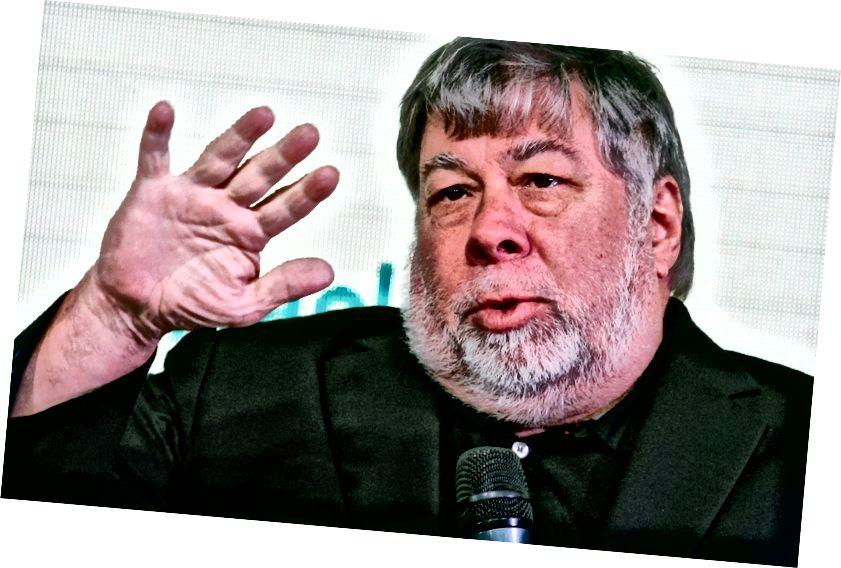 Ο συνιδρυτής της Apple Steve Wozniak. Πηγή