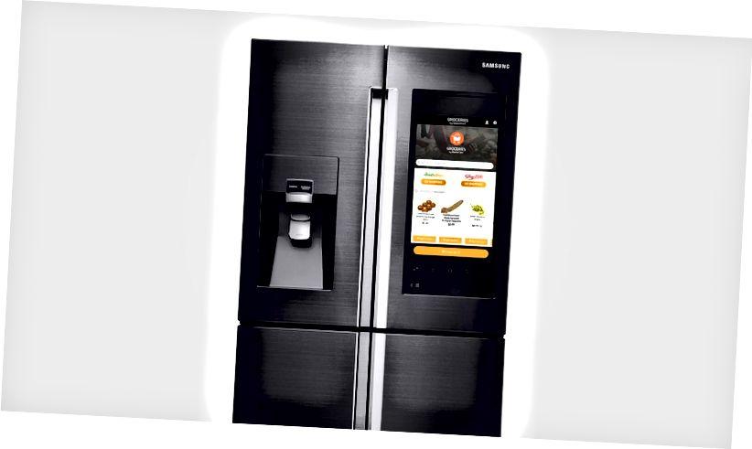 Tủ lạnh thông minh Samsung