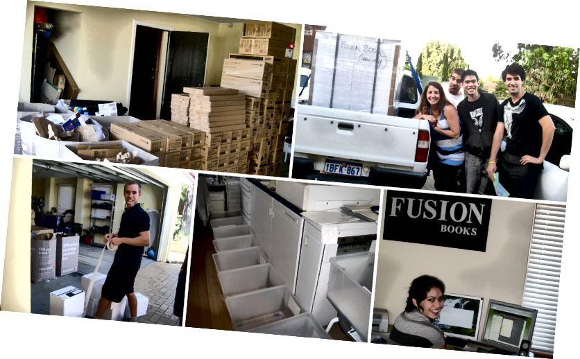 आम्ही आमच्या 24/7 च्या मुद्रण ऑपरेशनसह ममचे गॅरेज, ड्राईव्हवे आणि हॉलवे देखील ताब्यात घेतले. जी ती दयाळू होती.
