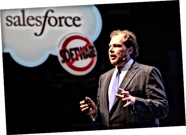 Giám đốc điều hành Salesforce Marc Benioff