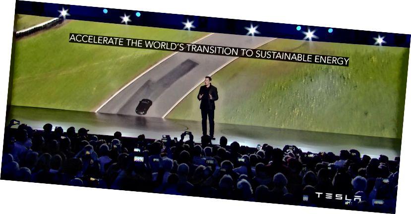 Thông báo Tesla Model 3 của Elon Musk