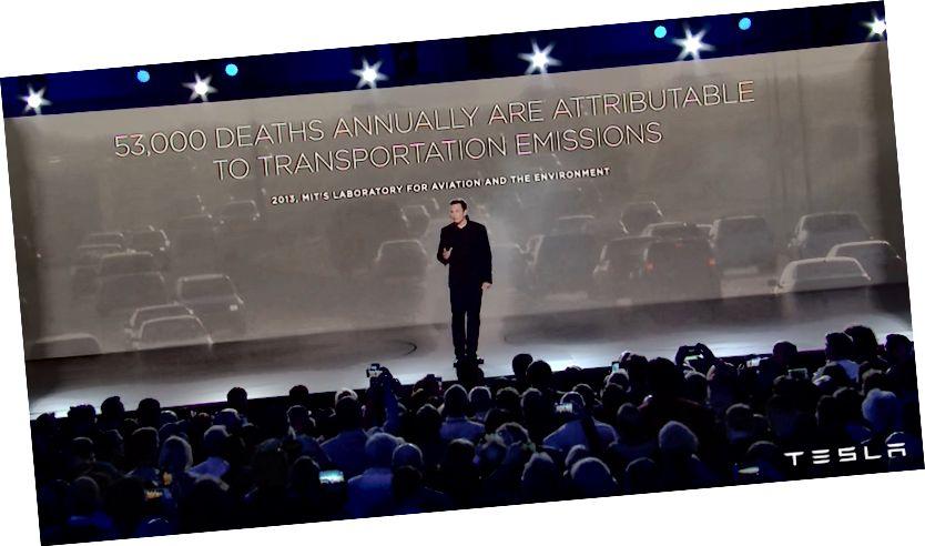 Thông báo Mô hình 3 của Elon Musk