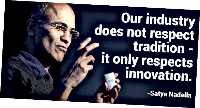 CEO Microsoft, Satya Nadella, 2014