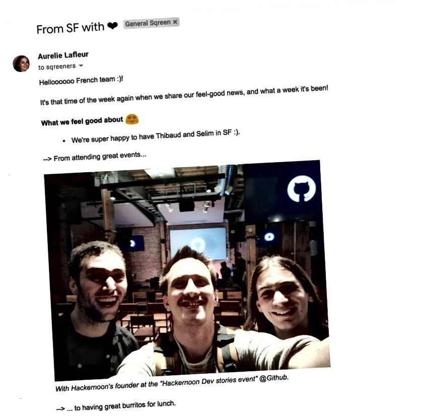 SF terbaru ke Aurélie memperbarui email