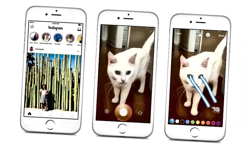Instagram sögur vs. Snapchat