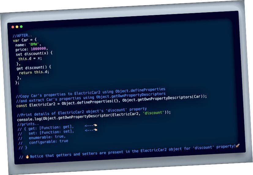ECMAScript 2017 (ES8) - Object.getOwnPropertyDescriptors