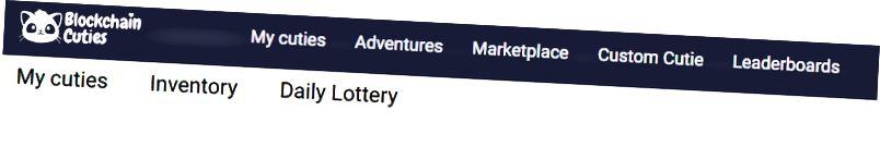 «Mes mignonnes» - onglet de loterie quotidienne