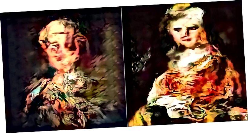 """AI által generált """"arc nélküli portrék"""" Ahmed Elgammal és AICAN. Fotó: Artrendex Inc./Atlanti-óceán"""