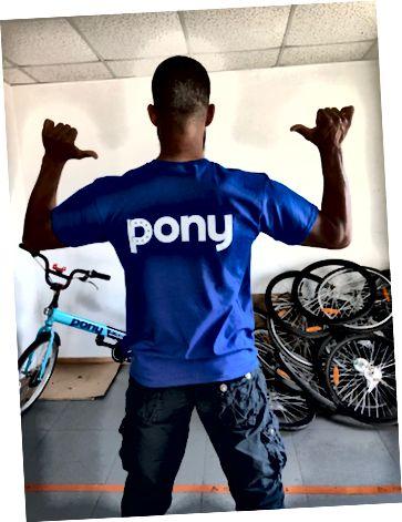 Membro del team Pony