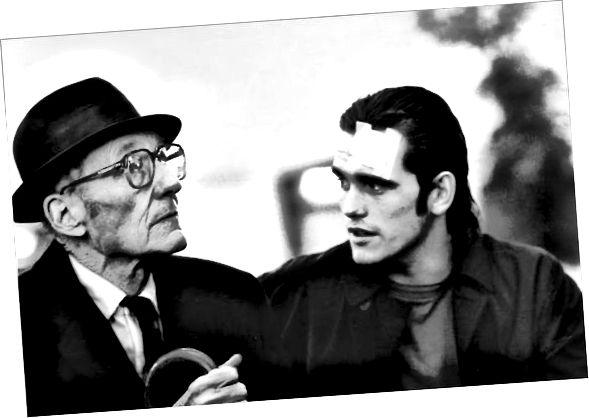 Cool er Ageless: William Burroughs og Matt Dillon í Drugstore Cowboy