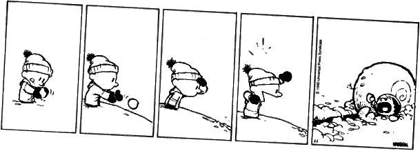 Heimild: Calvin & Hobbes