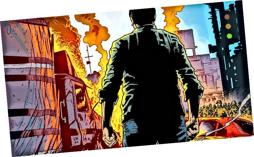 Crédit d'image: John Higgins / Vertigo Comics