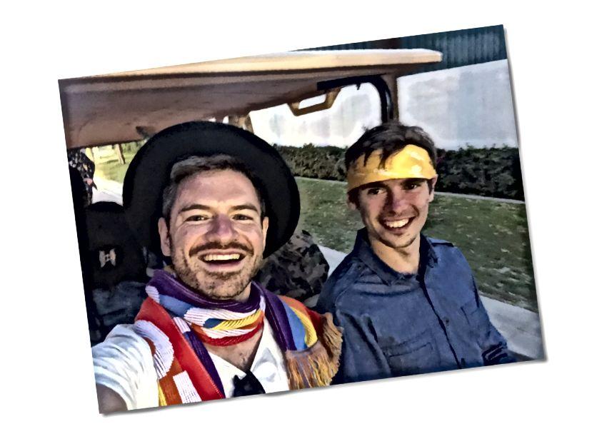 Feliks και Fedor στην Coachella, Απρίλιος του 2019