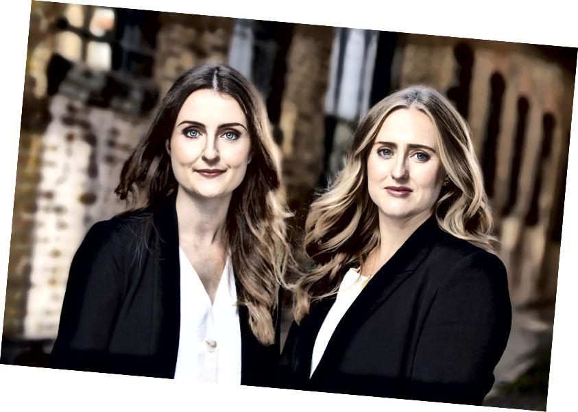 Tazz Gault und Katie Mills, Mitbegründer von StateZero Labs - dem weltweit ersten dedizierten Blockchain-Labor für Startups.