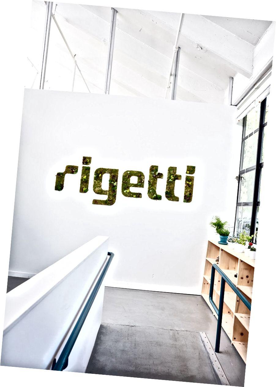 Markas besar Rigetti Computing di Berkeley, CA.