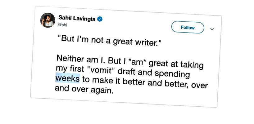 A Gumroad alapítója, Sahil tweetje arról, hogy mennyi időre van szükség egy lenyűgöző történet összehozásához, mivel egyik legutóbbi története egymillió olvasóhoz közeledik.