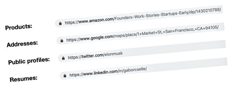 Mesajlaşma yolu ilə paylaşmaq üçün Kanonik URL-lər