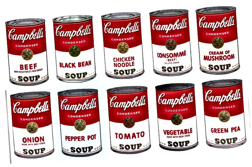 Andy Warhol 'Campbell's Soup Cans' 1962