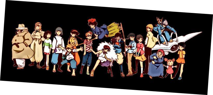 Team Ghibli - Studio Ghibli di D Kaufman