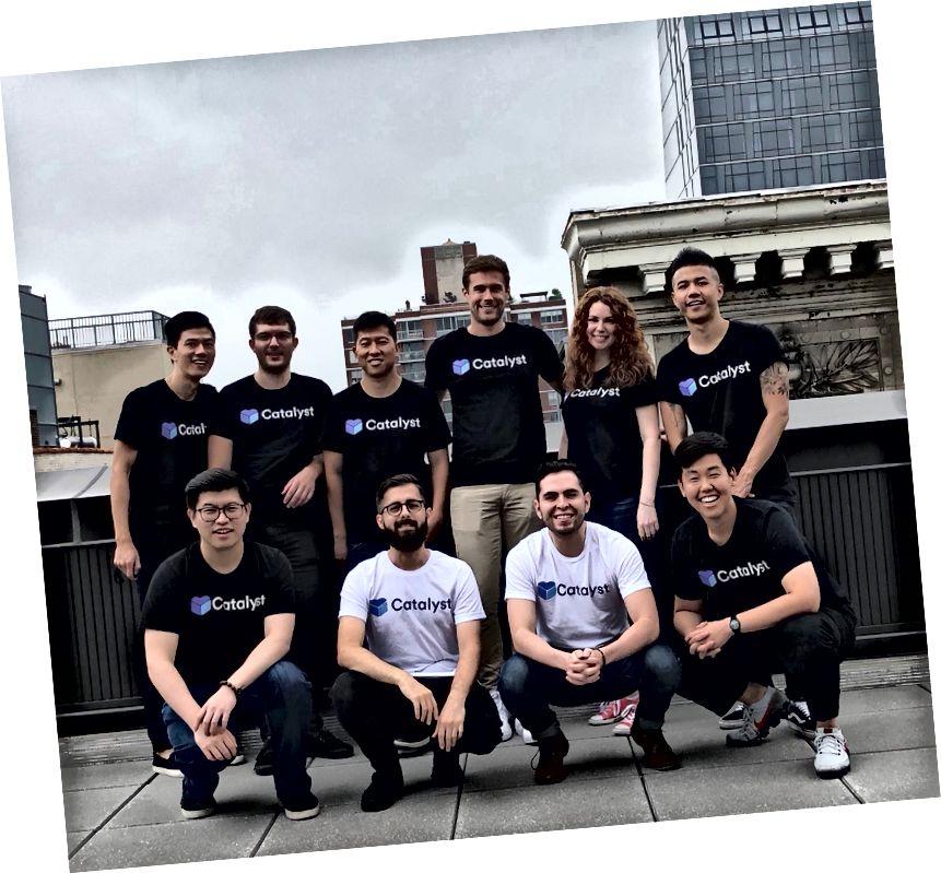 La talentueuse équipe Catalyst!