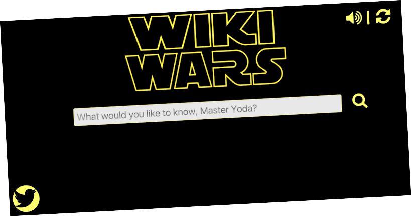 Wikipedia-Suche zum Thema Star Wars