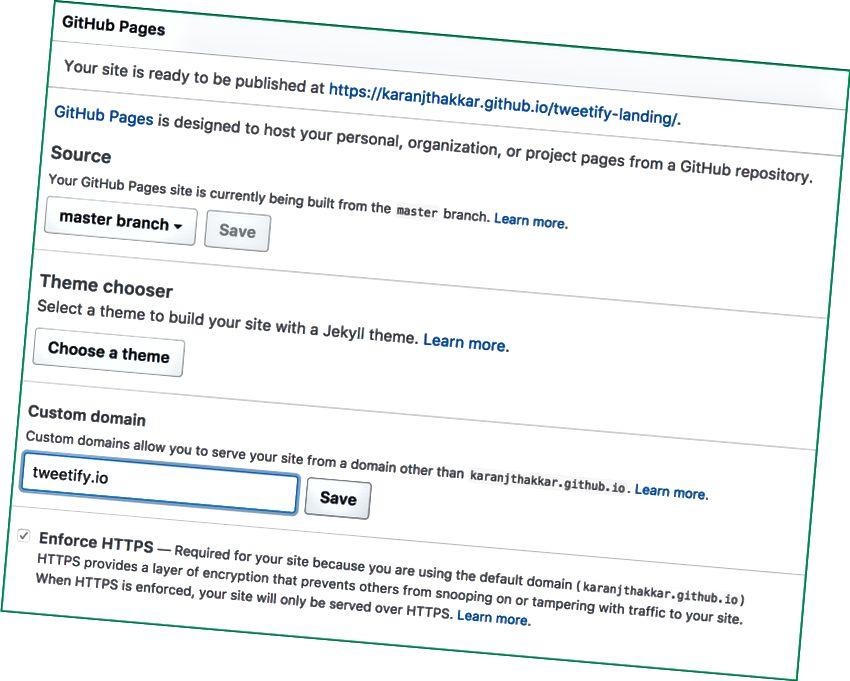 Ajoutez un domaine personnalisé pour votre site Web