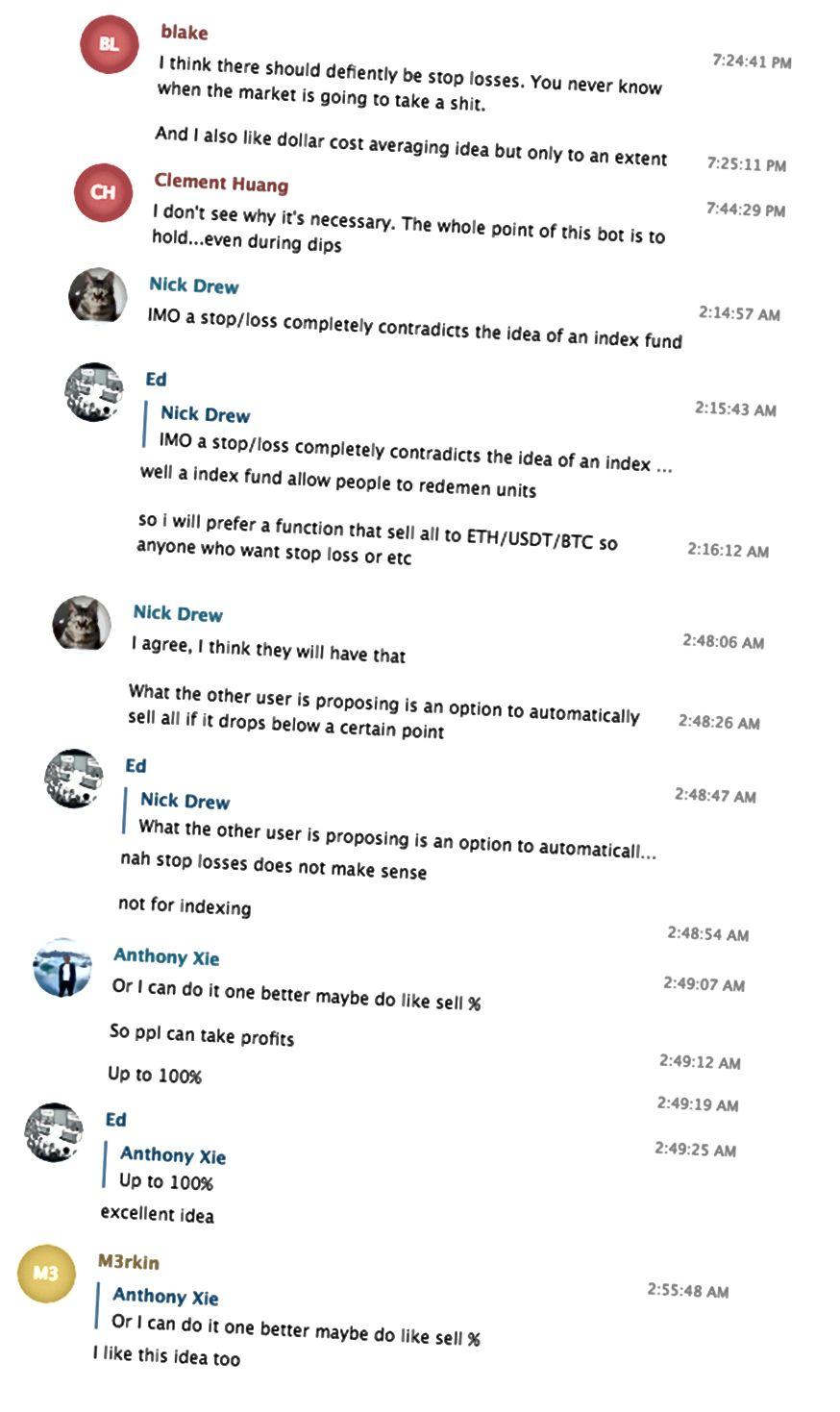 Senaften samtaler fremkalder nye produkt funktioner