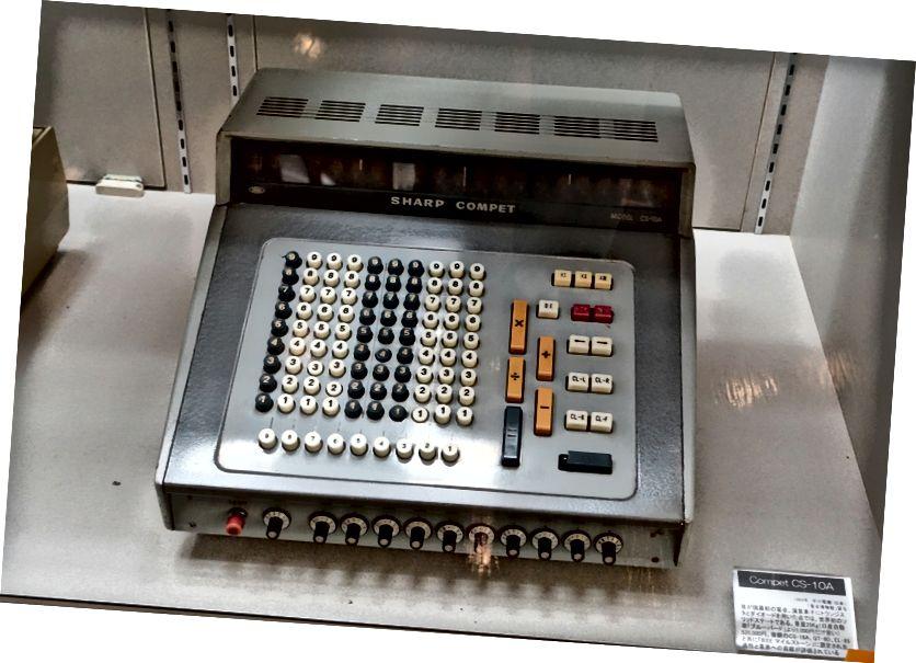 Sharp CS-10A (1964)