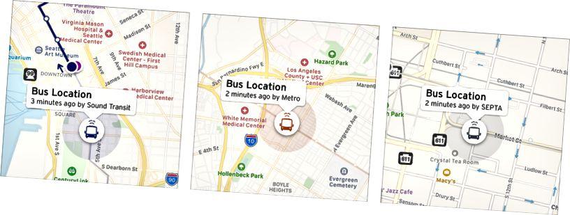 2016: quand vous pouvez diffuser des vidéos du monde entier avec une latence de millisecondes, mais savoir où se trouve le bus de quartier prend plus de 2 minutes