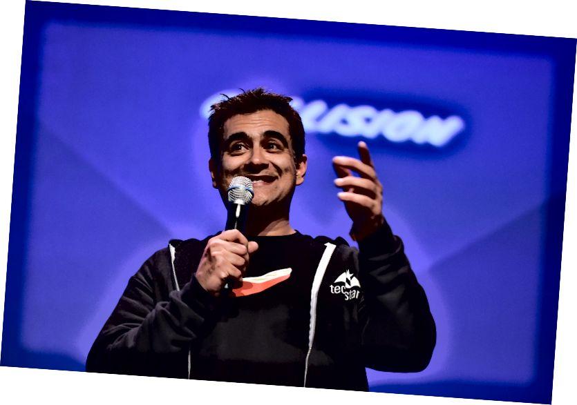 Sunil Sharma, a Techstars Canada ügyvezető igazgatója