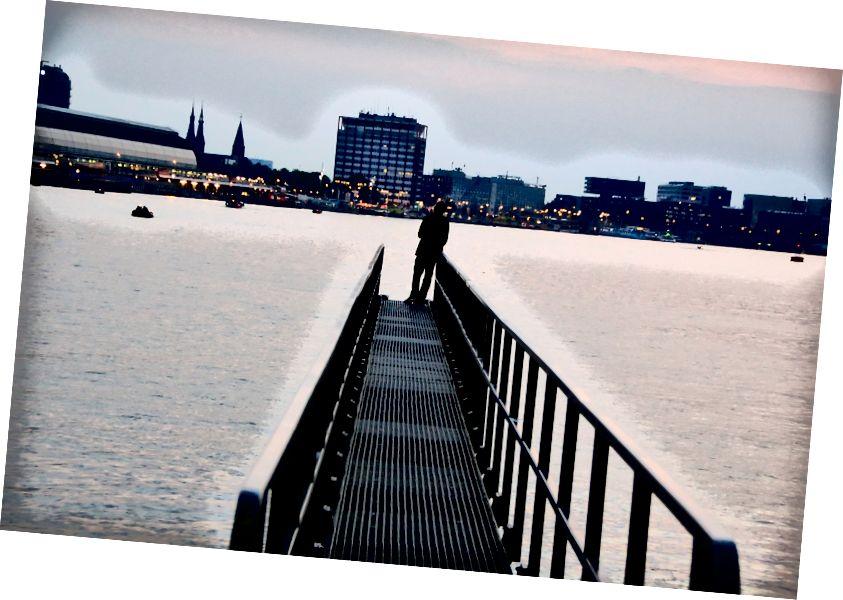 Panorama Amsterdamu. Fotografie: Stijn te Strake