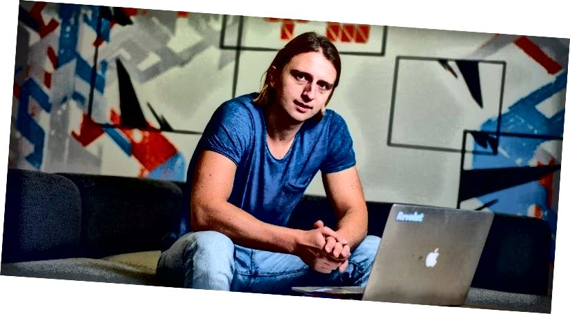 Николай Сторонский - башкы директор, Revolut