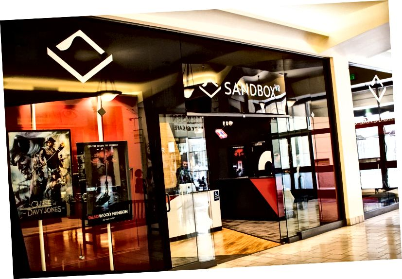 Sandbox VR, Hillsdale Mall-da, San Mateo