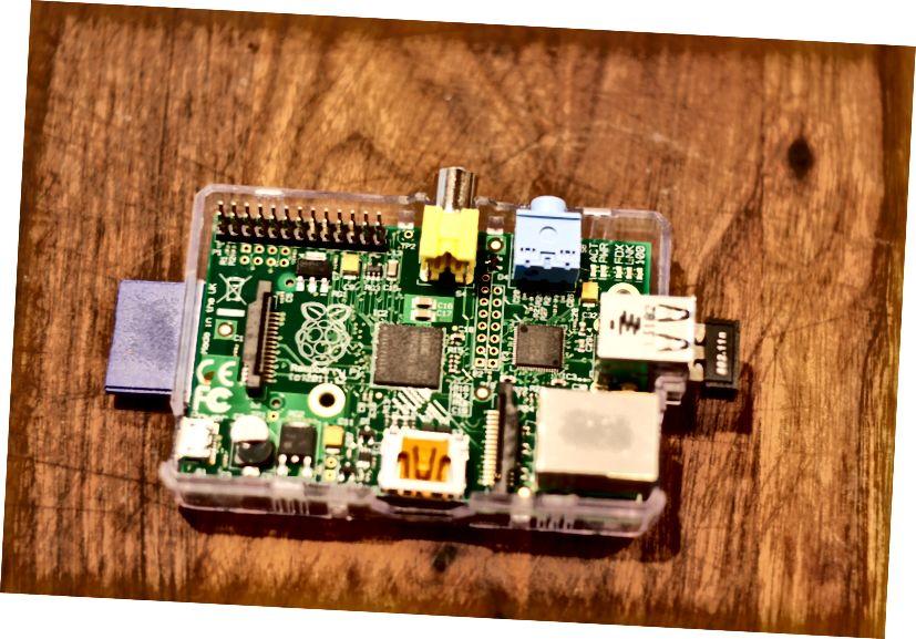 חומרה לדור הראשון של Raspberry Pi