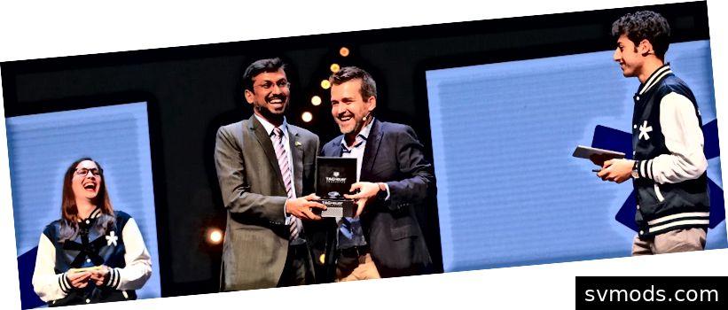 CMED Health gewinnt den Innovationspreis beim Seedstars Summit 2018