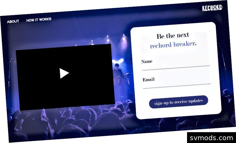 Screenshots unserer Website-Demo in Adobe XD.