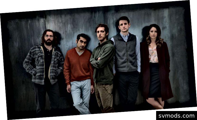 Die HBOs zeigen Silicon Valley-Stereotypen.