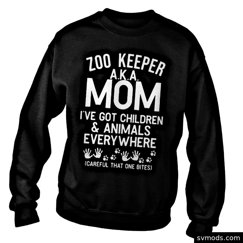Offizieller Zoo-Keeper aka Mom. Ich habe ein Kinder-Sweatshirt