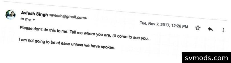 Miután elküldtem a fenti e-mailt, ami leírta lemondásomat, ezek voltak az e-mailek és üzenetek elzáródása, amiket bombáztam.