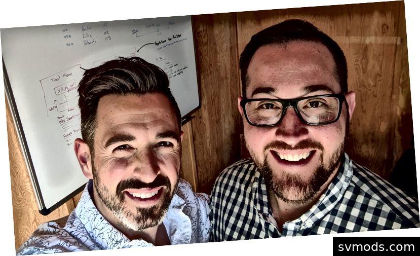 Sparktoro Mitbegründer Rand Fishkin + Casey Henry
