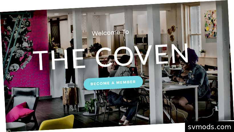Die Coven-Homepage