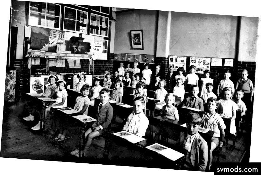 Warum hat Bildung in 150 Jahren keine Innovationen hervorgebracht? 1. Es hat. 2. Es funktioniert.