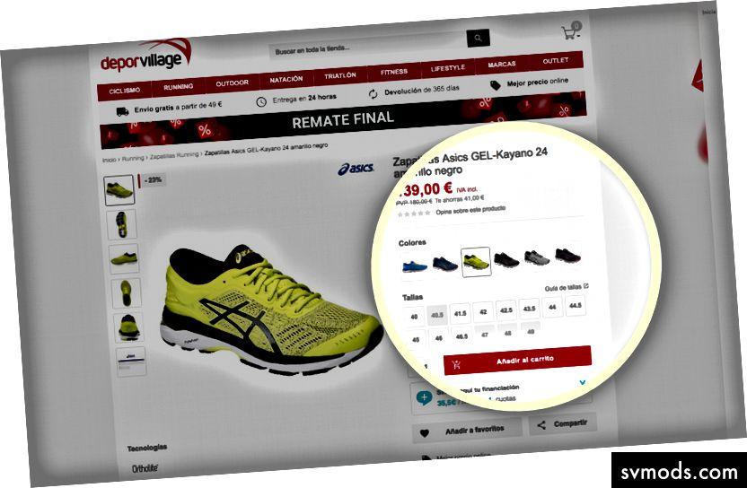 E-Commerce-Beispiel.
