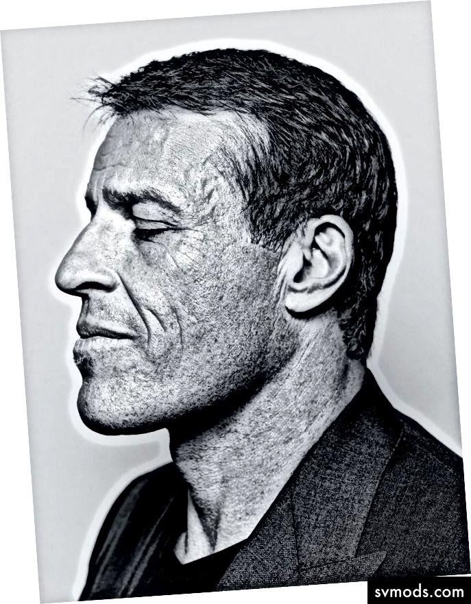Tony Robbins mentorom
