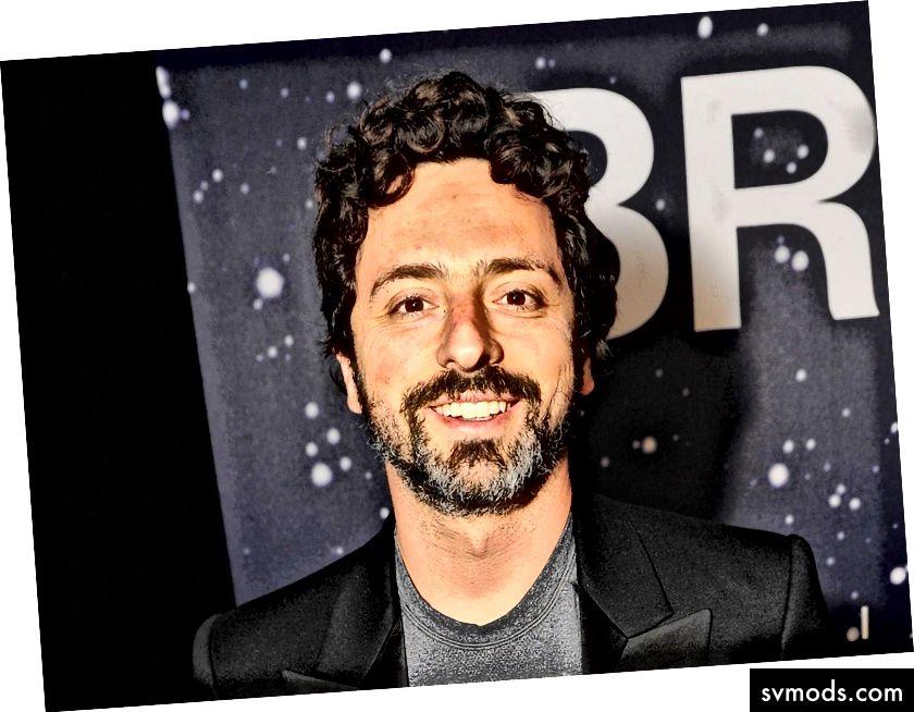 Sergey Brin [oder Geben Sie Ihren Tech Idol Namen hier ein]