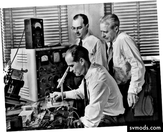 Engineering in alten Zeiten.