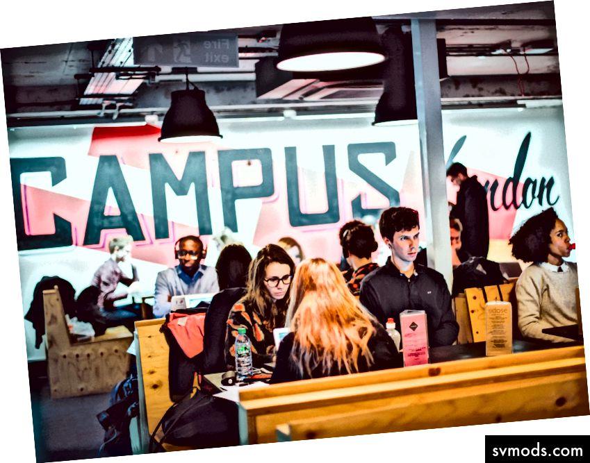 Ein typischer Tag bei Google Campus