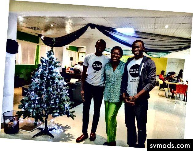Es ist Weihnachtszeit 2015. Letzte Tage bei CcHub mit Anike von Mamalette
