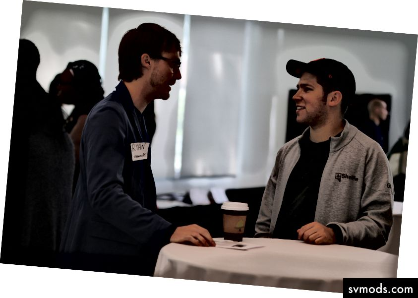 Networking auf der Babson Young Entrepreneurs Conference