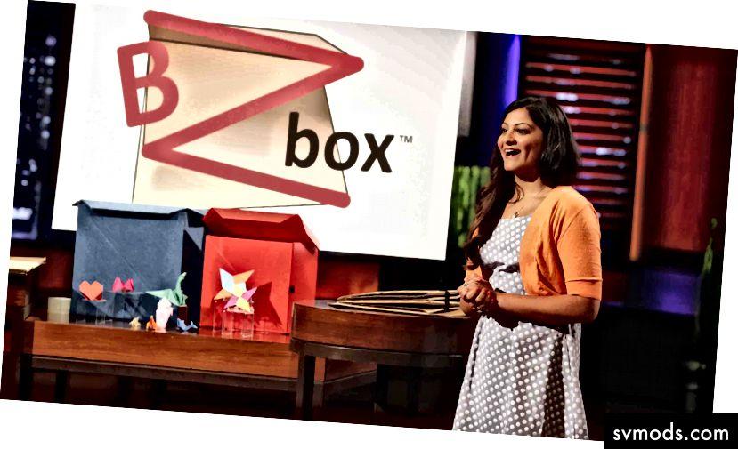 Kaeya, ein 19-jähriger Unternehmer, wirft die Haie auf ABCs